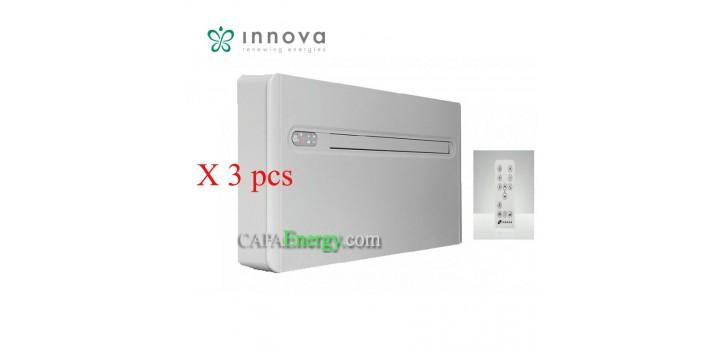 Lot de 3 pcs Innova 2.0 reversible Monoblock-Klimaanlage ohne Außeneinheit