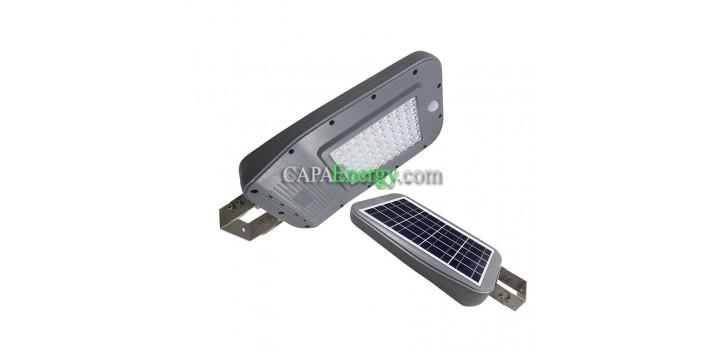 Lampadaire Solaire 10 W Led avec panneau solaire