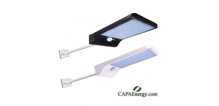 Solarstraßenlaterne 36 LEDs 2835 SMD superhell