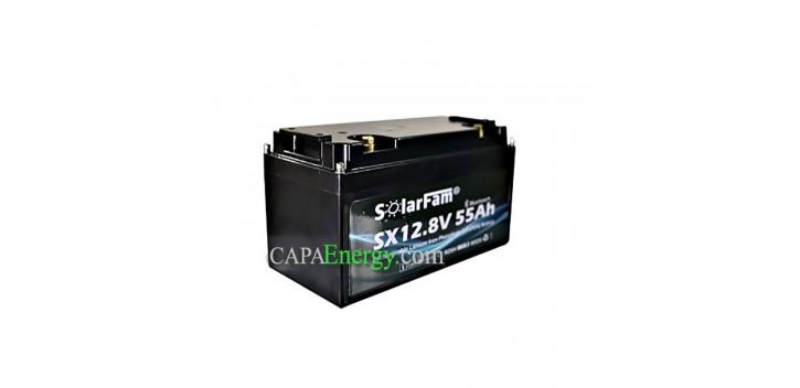 12V 55AH lithium battery