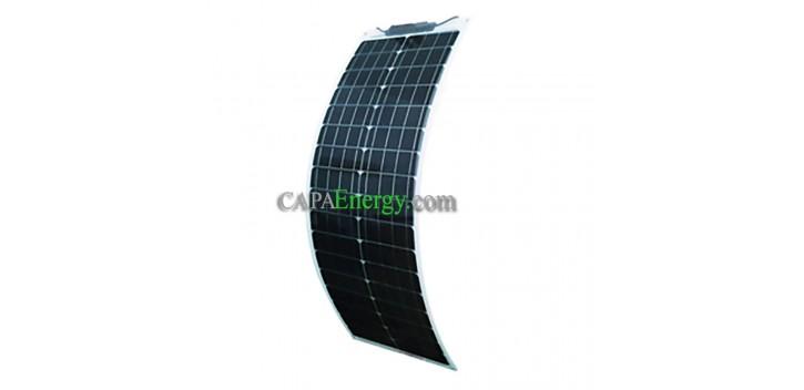 Panneau solaire 50W 12V Monocristalin Souple-Flexible