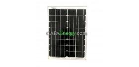 Solarpanel 30W 12V monokristallin
