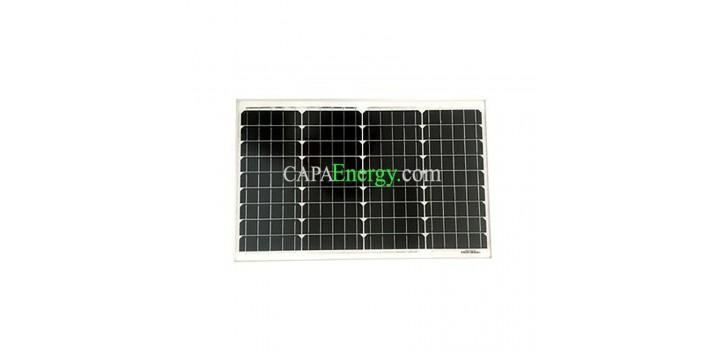 Pannello solare 40W 12V monocristallino