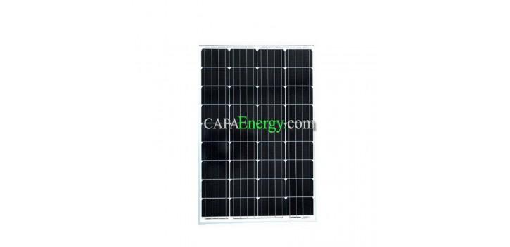 Pannello solare 80W 12V monocristallino