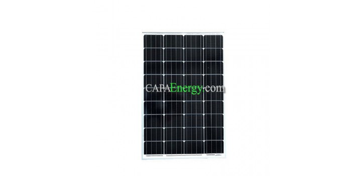 Solarpanel 80W 12V monokristallin