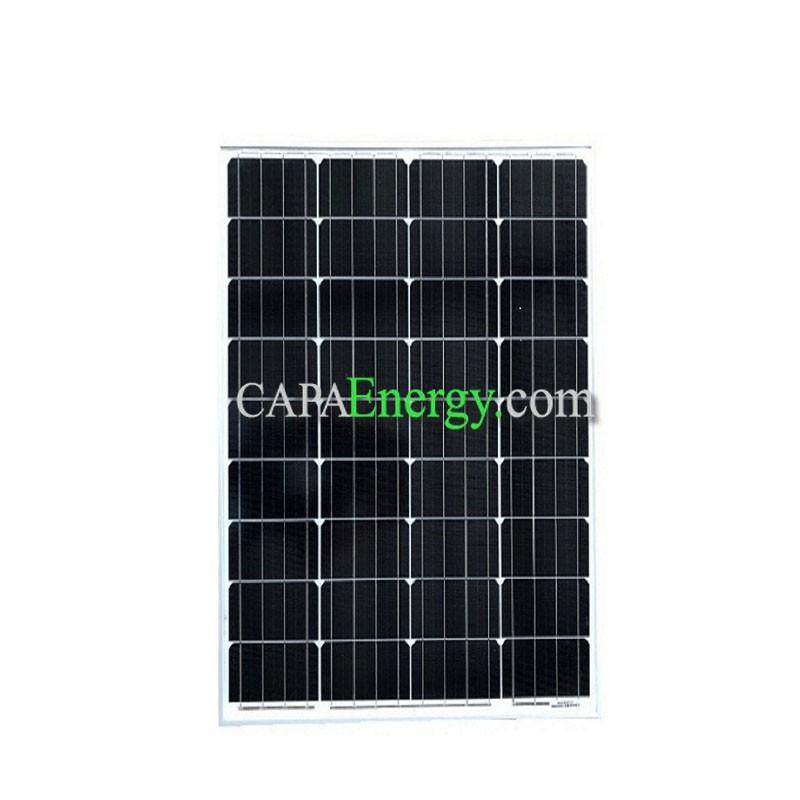 Solar Panel 80w 12v Monocrystalline