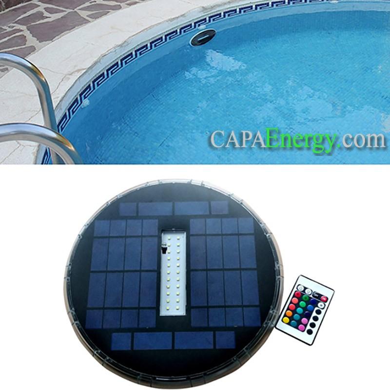 Solar swimming pool light solar powered underwater pool light - Swimming pool maintenance services ...