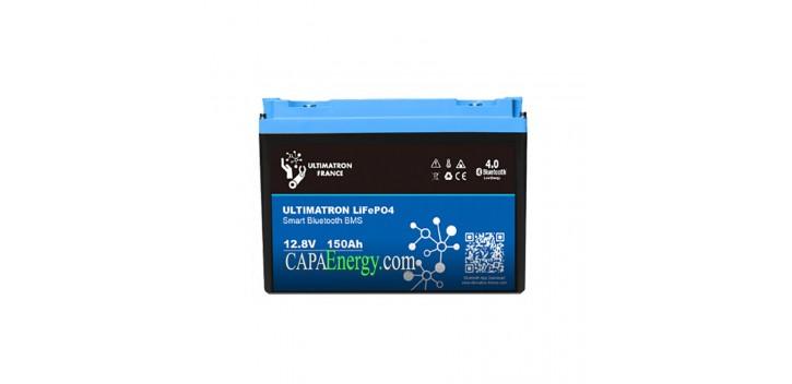 Lithium Battery 12V-150Ah LiFePO4 Iron-Phosphate-Ultimatron