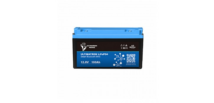 Batteria al litio 12V-100Ah LiFePO4 ferro-fosfato-fosfato-Ultimatron
