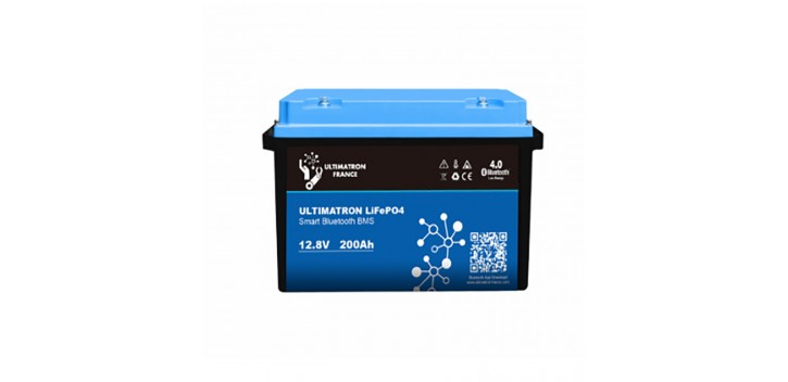 Lithium Battery 12V-200Ah LiFePO4 Iron-Phosphate-Ultimatron