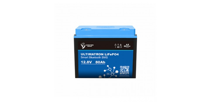 Lithium Battery 12V-80Ah LiFePO4 Iron-Phosphate-Ultimatron