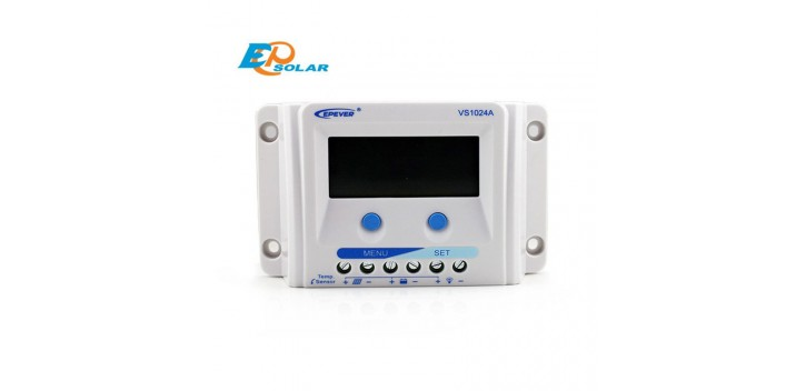 Epsolar VS-A PWM 12V / 24V-Serie mit LCD-Display - 10A