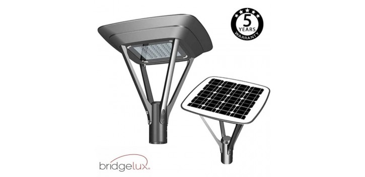 SOLAR-LED-Straßenleuchte 20W MILAN SMD5050 240Lm/W