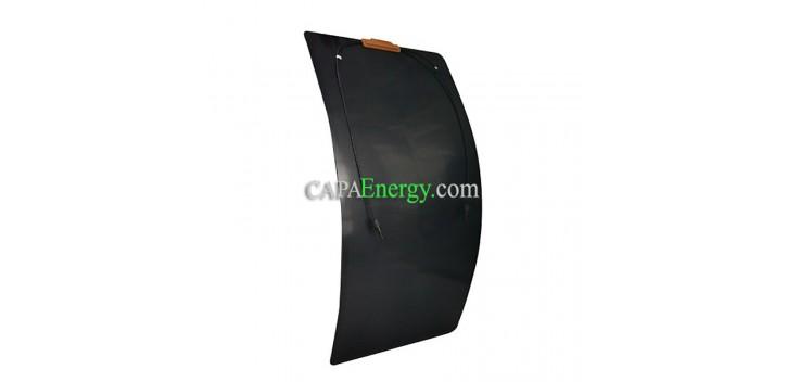 Panneau solaire 100W12V Monocristalin Souple-Flexible