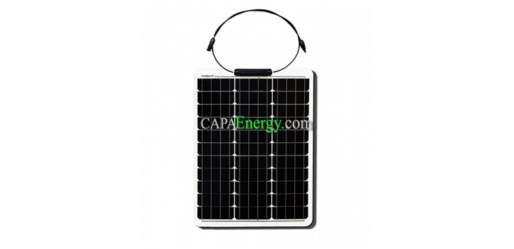 Panel Solar 50W 12V Monocristalino Flexible