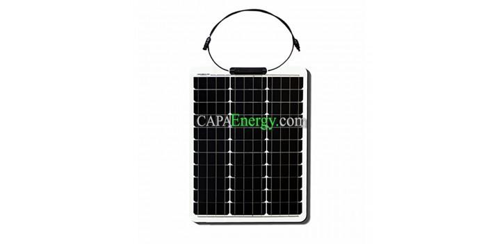 Solar Panel 50W 12V Monocrystalline Flexible