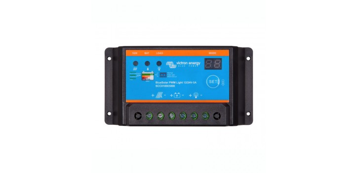 Régulateur Victron BlueSolar PWM Light 12-24V