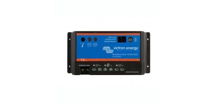 Regulador Victron BlueSolar DUO 12 / 24V 20A