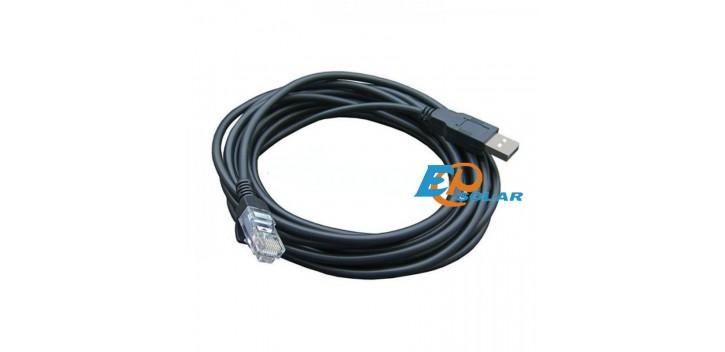 Conexión a PC Cable USB para EP Controlador de carga solar