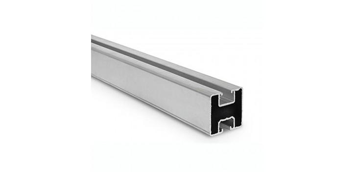 Riel de aluminio 40x40 para la fijación de paneles solares (1m)