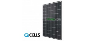 Q.Cells solar panel 300Wc mono black frame