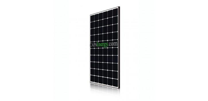 Solarmodul LG 370Wc NeON R Monokristallin voll schwarz