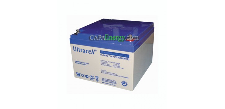 Batterie GEL Ultracell 12V 26Ah