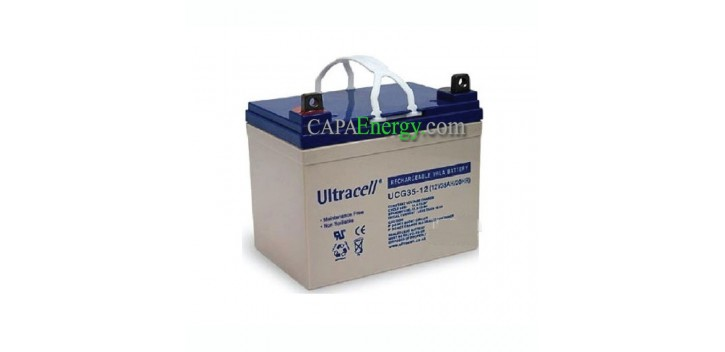 Batterie GEL Ultracell 12V 35Ah