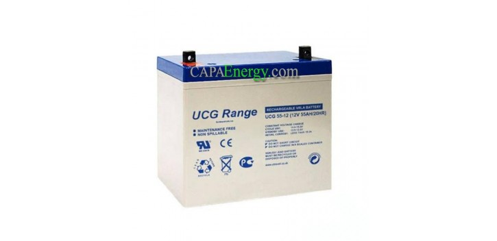 Batterie GEL Ultracell 12V 55Ah