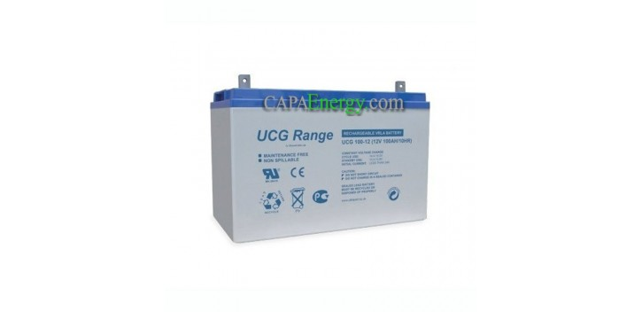 Batería Ultracell GEL 12V 100Ah