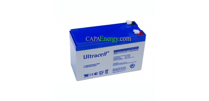 Batterie AGM Ultracell 12V 7Ah