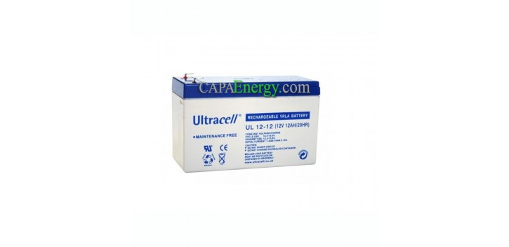 Solar battery AGM Ultracell 12V 12Ah