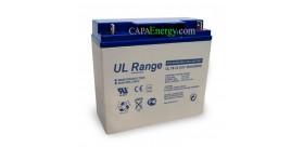 Solarbatterie AGM Ultracell 12V 18Ah