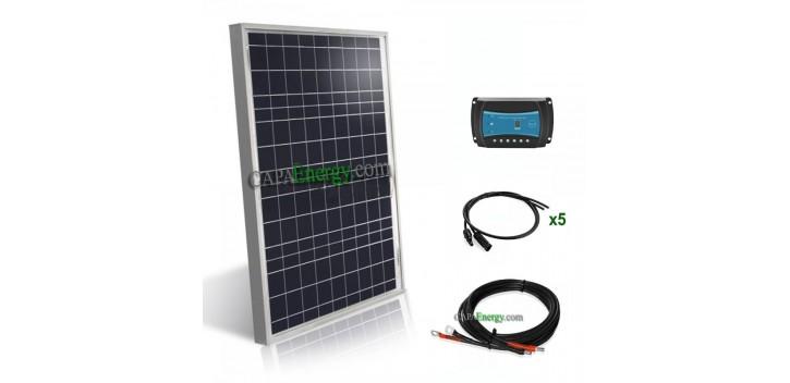 Kit solaire camping-car & bateau12V