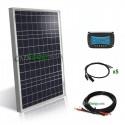 Kit solar autocaravana - barco 12V 50Wc