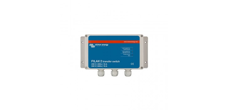 Commutateur de transfert Victron Filax 2 - 230V / 50Hz