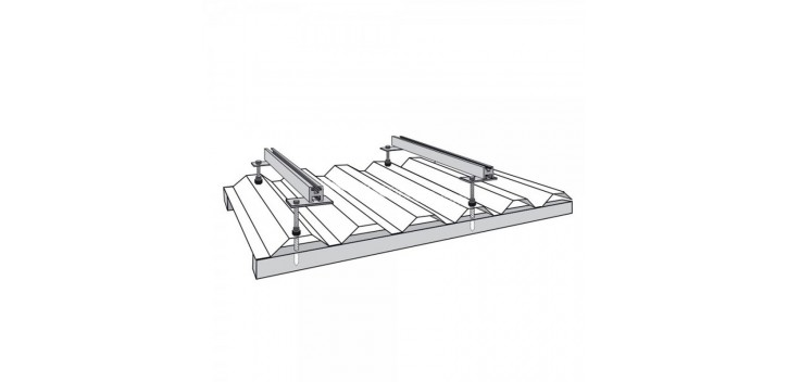 Kit de fijación de techo de pizarra