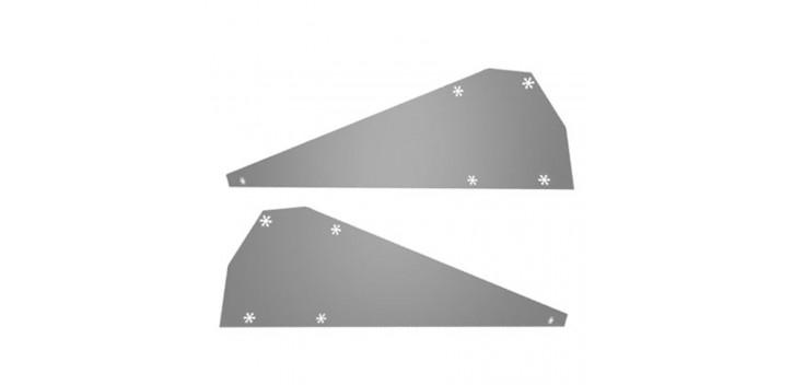 Deflectores de viento FlatFix lados sistema de montaje