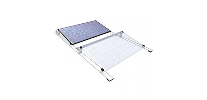 Sistema de montaje de techo plano - 20 o 40 paneles
