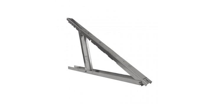 Pequeño soporte de aluminio ajustable