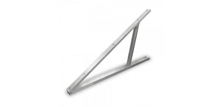Grande staffa regolabile in alluminio