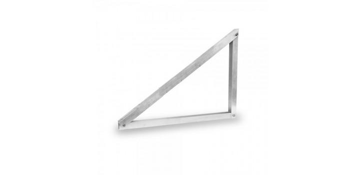 Supporto a muro in alluminio