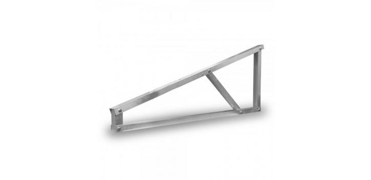 Pied pour structure autoportante en aluminium