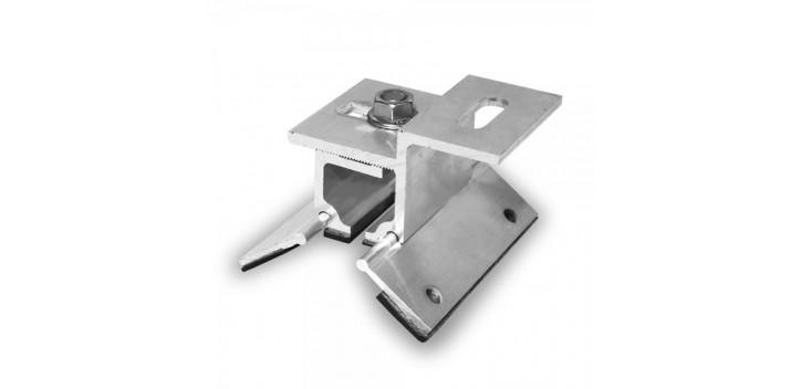 Sujetador para hierro corrugado