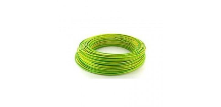 Cable de tierra 4mm2 1m