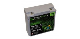 Batteria al litio PowerBrick + 12V 20Ah