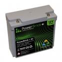 Batería de litio PowerBrick + 12V 20Ah