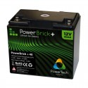 Batteria al litio PowerBrick + 12V 40Ah