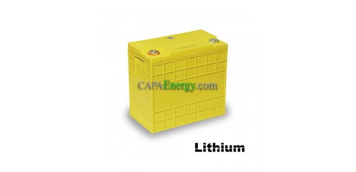 Batterie al litio 12V60Ah