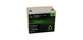Batteria al litio PowerBrick + 12V 55Ah